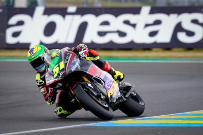 MotoE™ - Le Mans : Granado hausse le ton en FP2
