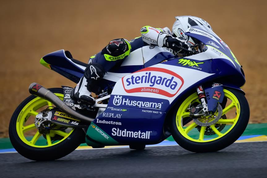 Romano Fenati, Sterilgarda Max Racing Team, SHARK Grand Prix de France