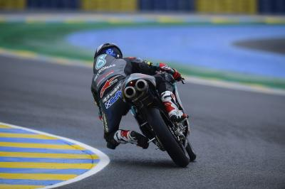 McPhee heads Acosta in treacherous Le Mans FP1