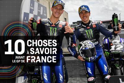 Le team officiel Yamaha aura frappé fort en qualifications !
