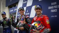 Fabio Quartararo, Maverick Viñales, Jack Miller, SHARK Grand Prix de France