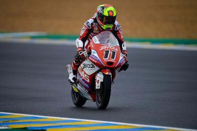 Garcia triumphs in a treacherous Moto3™ race