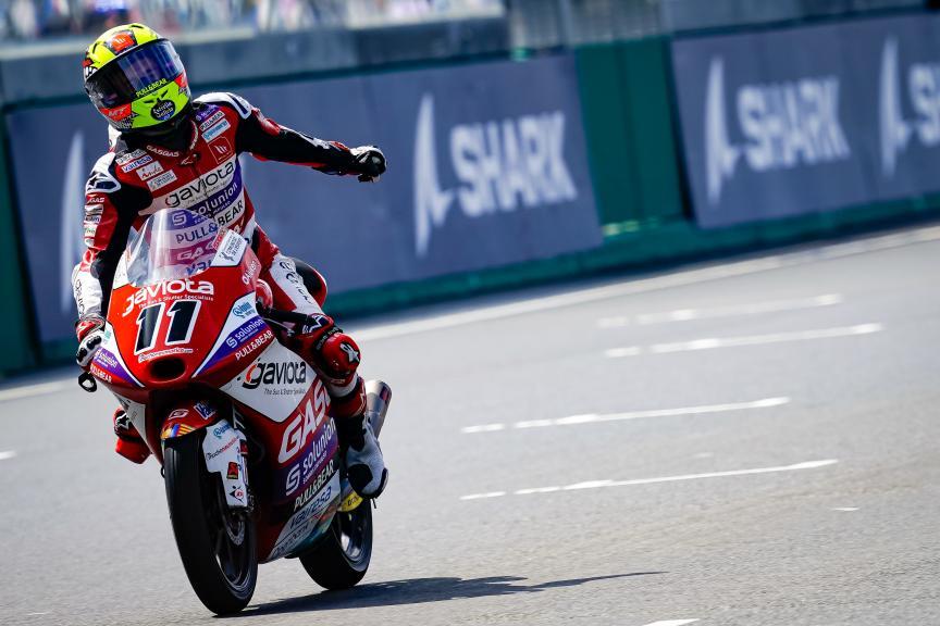 Sergio Garcia, Solunion Gasgas Aspar Team, SHARK Grand Prix de France