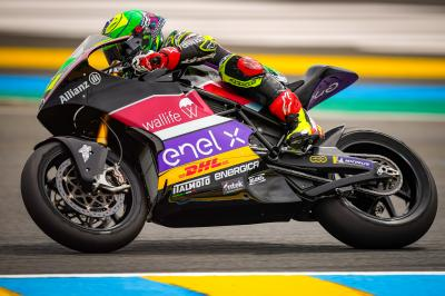 Granado seals MotoE™ victory in an epic Le Mans battle