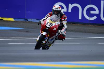 Izdihar fastest in a rain soaked Moto3™ Warm Up