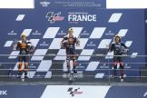 Raul Fernandez, Remy Gardner, Marco Bezzecchi, SHARK Grand Prix de France