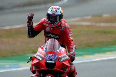 Double long lap to victory: Miller's rollercoaster French GP