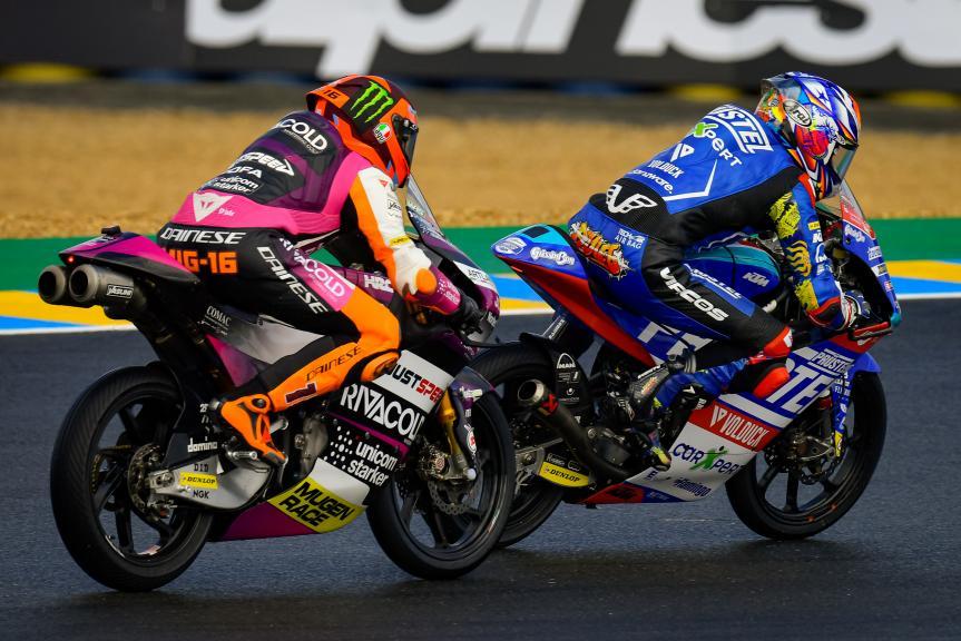 Ryusei Yamanaka, Andrea Migno, SHARK Grand Prix de France