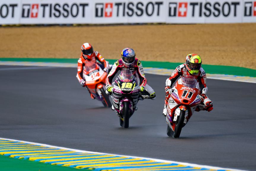 Sergio Garcia, Filip Salac, Riccardo Rossi, SHARK Grand Prix de France