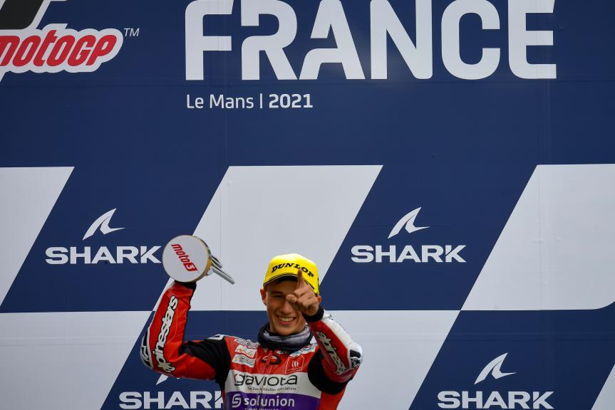 Sergio Garcia, Gaviota Gasgas Aspar Team, SHARK Grand Prix de France