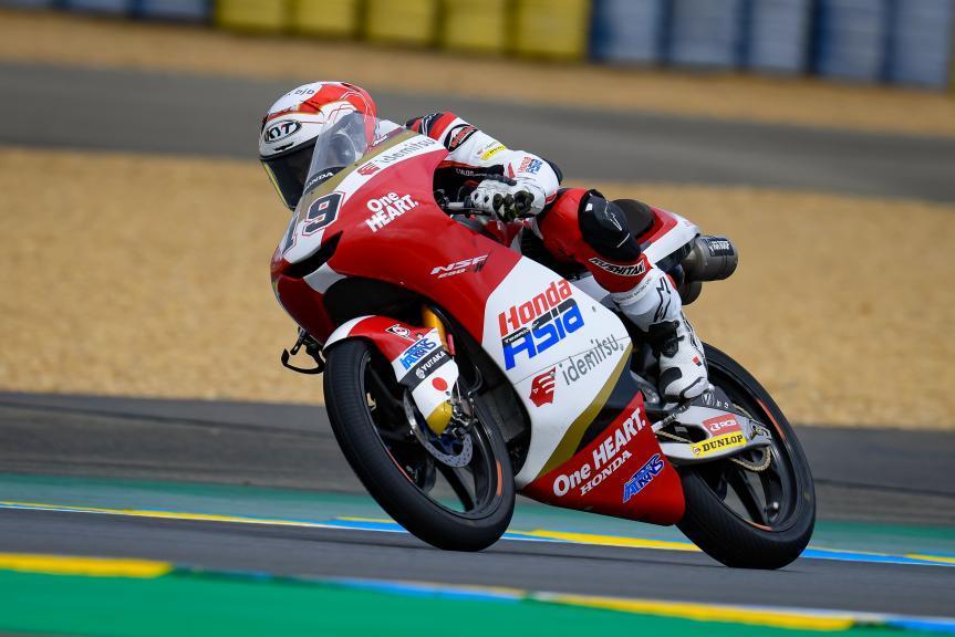 Andi Farid Izdihar, Honda Team Asia, SHARK Grand Prix de France