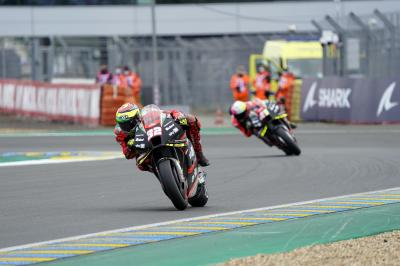 Was lief in Le Mans schief für Aprilia?