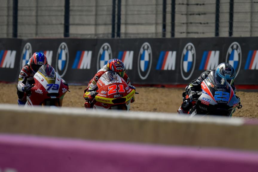 Fabio Di Giannantonio, Marcel Schrotter, Ai Ogura, SHARK Grand Prix de France