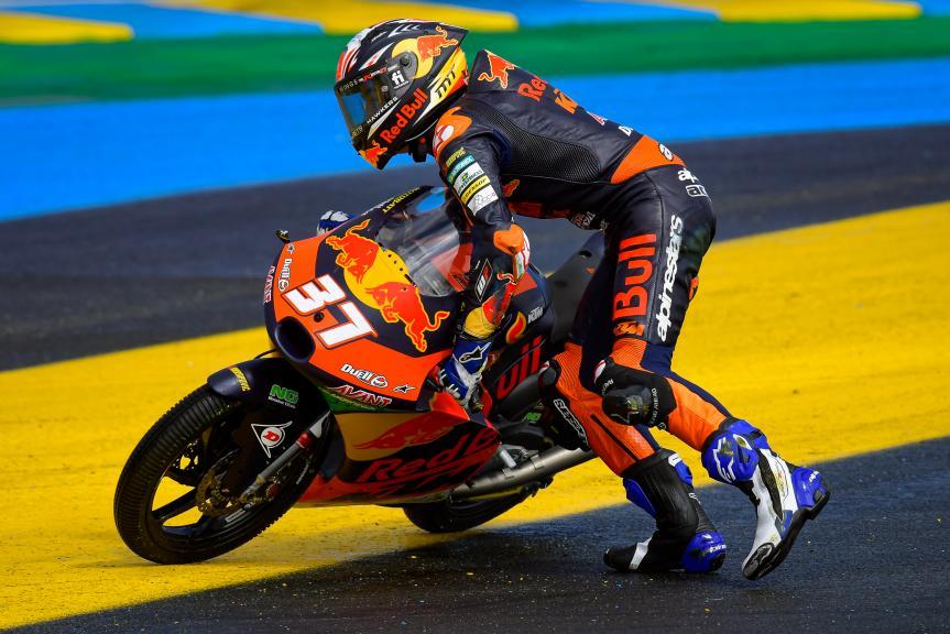 Pedro Acosta, Red Bull KTM Ajo, SHARK Grand Prix de France