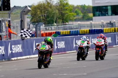 Le dénouement de la course MotoE™ au Mans