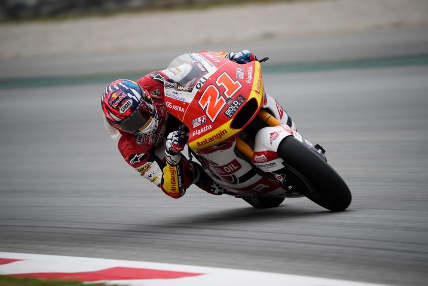 Fabio Di Giannantonio_Catalunya Private Test Moto2™-Moto3™_©Alejandro Ceresuela