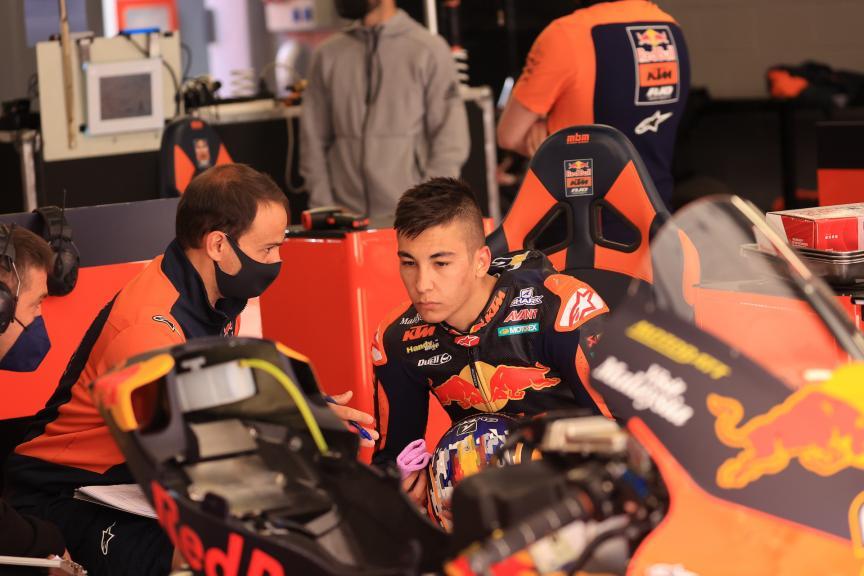 Raul Fernandez, Red Bull KTM Ajo_Catalunya Private Test_@Satoshi Endo
