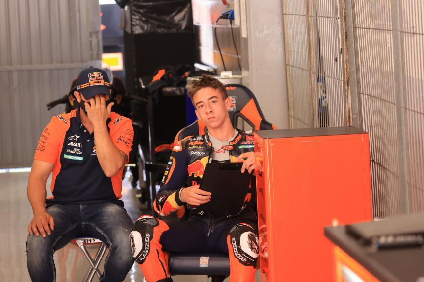 Pedro Acosta, Red Bull KTM Ajo_Catalunya Private Test_@Satoshi Endo