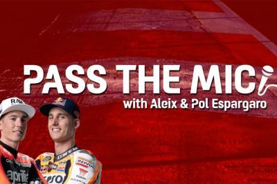 Pass The Mic : Aleix et Pol Espargaró