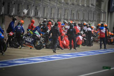 """""""Risky fun"""" in MotoGP™'s first flag to flag in four years"""
