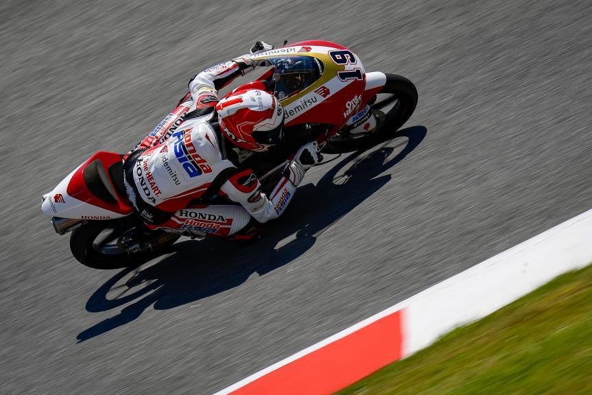 Andi Farid Izdihar, Honda Team Asia, Gran Premio d'Italia Oakley