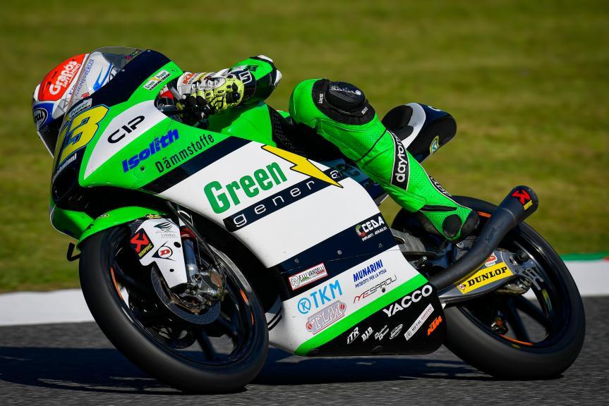 Maximilian Kofler, CIP Green Power, Gran Premio d'Italia Oakley