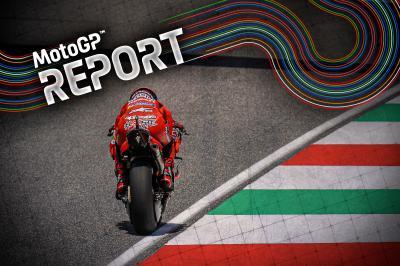 Bagnaia defiende el orgullo de Ducati en Mugello