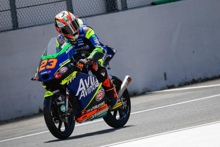 Niccolo Antonelli, Avintia Esponsorama Moto3, Gran Premio d'Italia Oakley