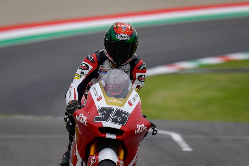 Somkiat Chantra, Idemitsu Honda Team Asia, Gran Premio d'Italia Oakley