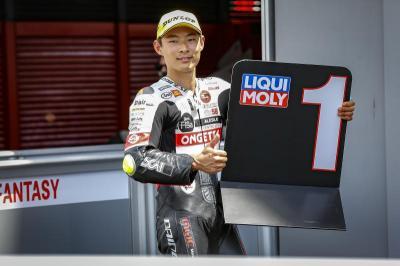 Moto3™ : Suzuki frappe un grand coup en qualifications