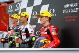 Gabriel Rodrigo, Tatsuki Suzuki, Pedro Acosta, Gran Premio d'Italia Oakley