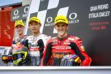 Tatsuki Suzuki, Pedro Acosta, Gabriel Rodrigo, Gran Premio d'Italia Oakley