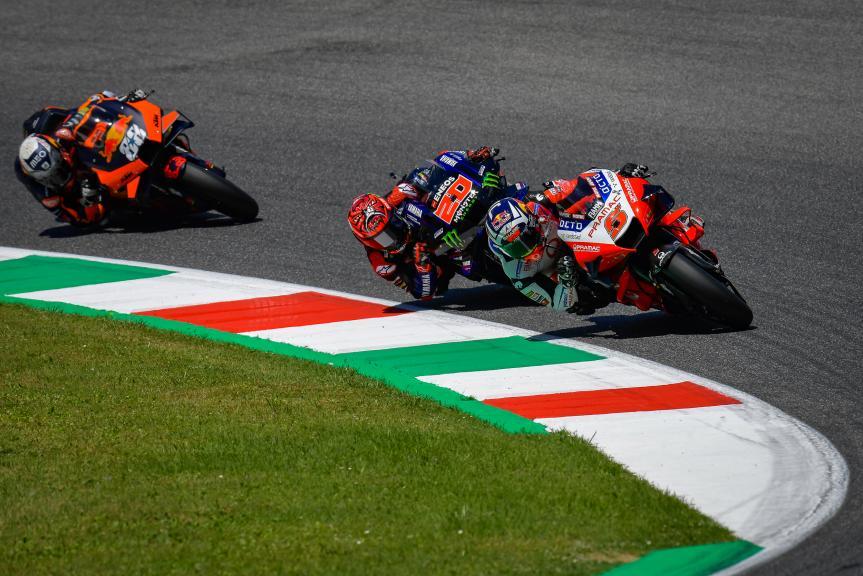 Johann Zarco, Fabio Quartararo, Miguel Oliveira, Gran Premio d'Italia Oakley