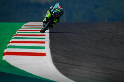 Moto3™ : L'hymne italien résonne au Mugello
