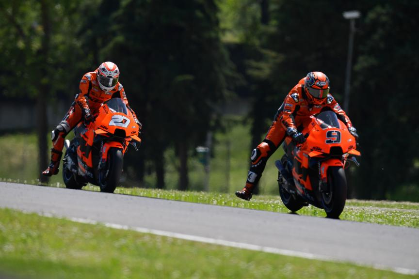 Danilo Petrucci, Iker Lecuona, Tech3 KTM Factory Racing, Gran Premio d'Italia Oakley
