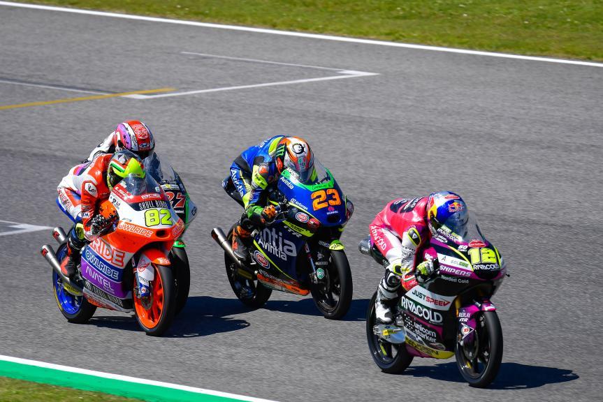 Filip Salac, Niccolo Antonelli, Stefano Nepa, Gran Premio d'Italia Oakley