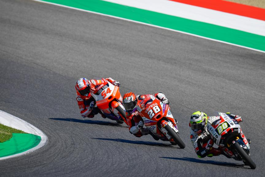 Lorenzo Fellon, Izan Guevara, Riccardo Rossi, Gran Premio d'Italia Oakley