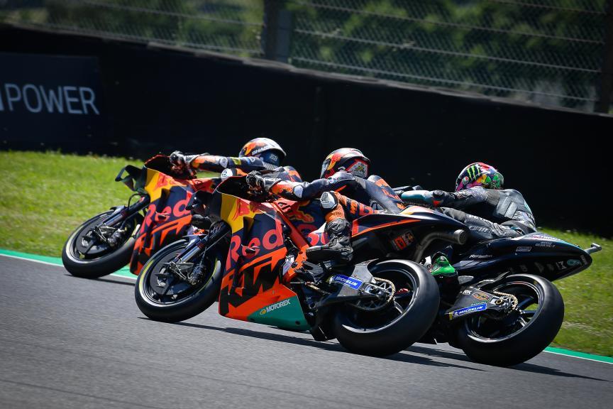 Brad Binder, Miguel Oliveira, Franco Morbidelli, Gran Premio d'Italia Oakley