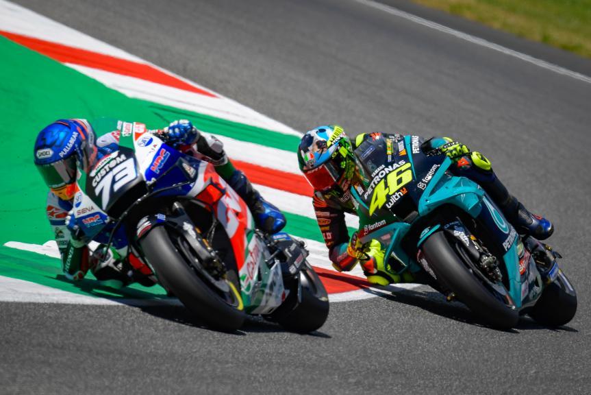 Alex Marquez, Valentino Rossi, Gran Premio d'Italia Oakley