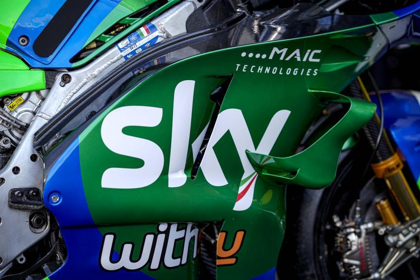SKY VR46 special Mugello livery