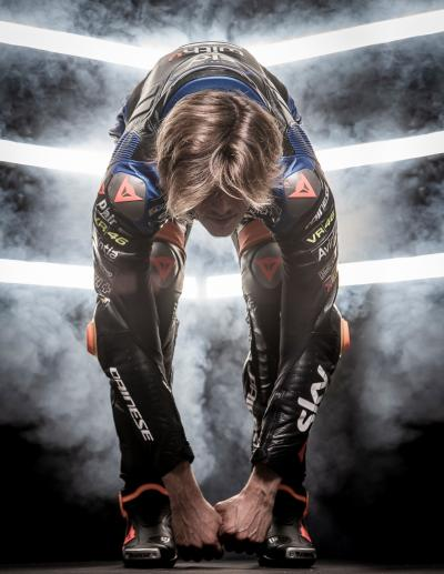Riders' Rituals @luca_marini_97 | Stretching time to get ready for