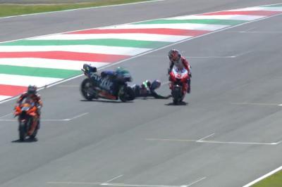 Que s'est-il passé entre Zarco et Bastianini sur la grille ?