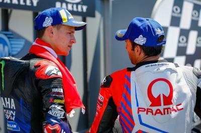 Deux Français au sommet du MotoGP™ !