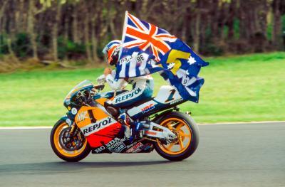 Gardner a MotoGP ™: los iconos australianos tienen voz