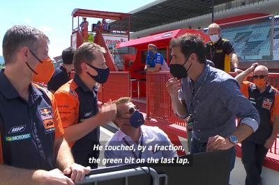 Unseen : Un dernier tour sous tension pour KTM et Suzuki