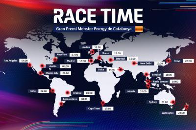 HORARIO: Gran Premio de Cataluña de Monster Energy