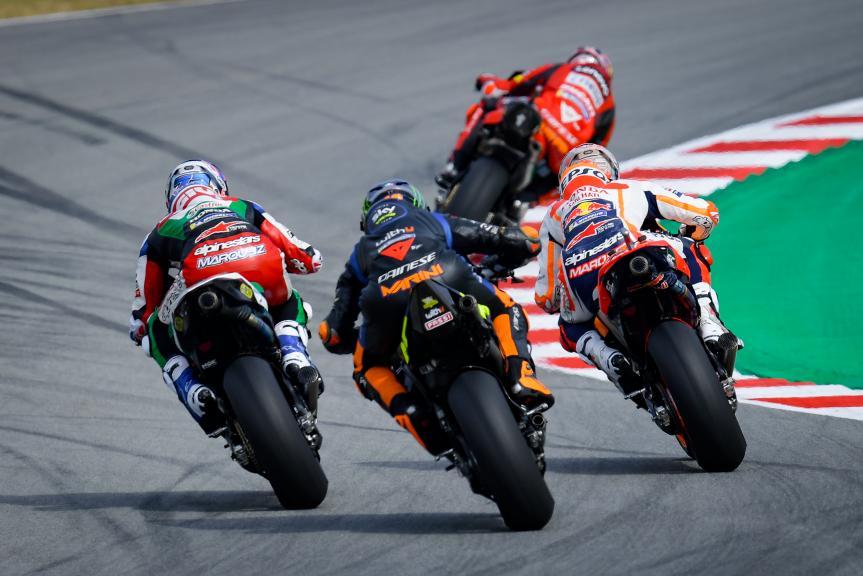 Luca Marini, Alex Marquez, Marc Marquez, Gran Premi Monster Energy de Catalunya