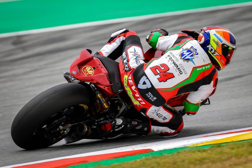 Simone Corsi, MV Agusta Forward Racing, Gran Premi Monster Energy de Catalunya