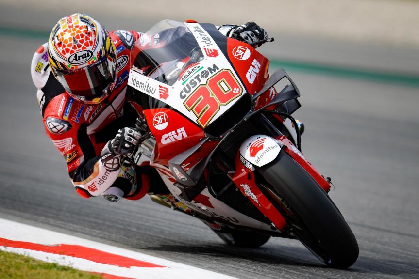 Takaaki Nakagami, LCR Honda, Gran Premi Monster Energy de Catalunya