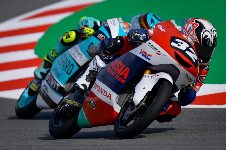 Takuma Matsuyama, Honda Team Asia, Gran Premi Monster Energy de Catalunya
